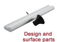 Design and surface parts