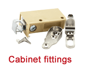 Cabinet fittings: